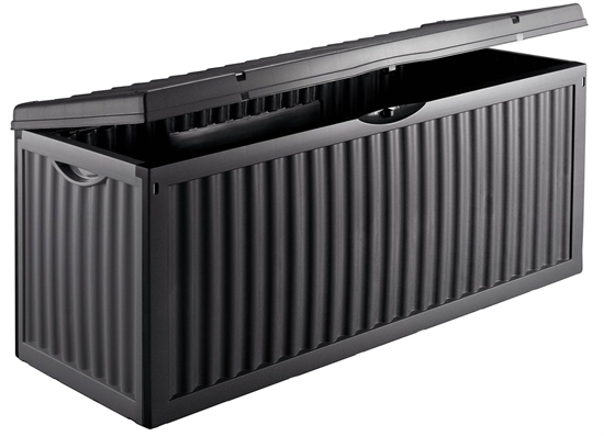 kunststoff auflagenbox wave gartenbox kiste truhe ger tebox kissenbox ebay. Black Bedroom Furniture Sets. Home Design Ideas