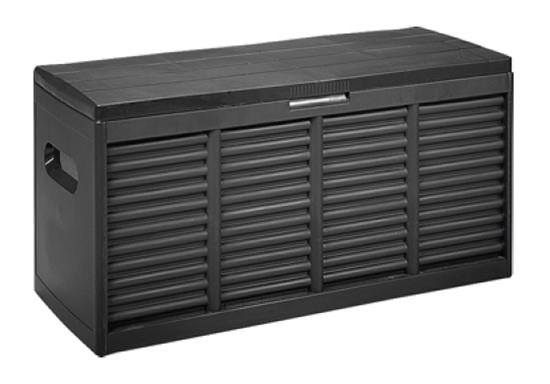 kunststoff auflagenbox gartenbox kiste truhe ger tebox kissenbox aufbewahrung ebay. Black Bedroom Furniture Sets. Home Design Ideas