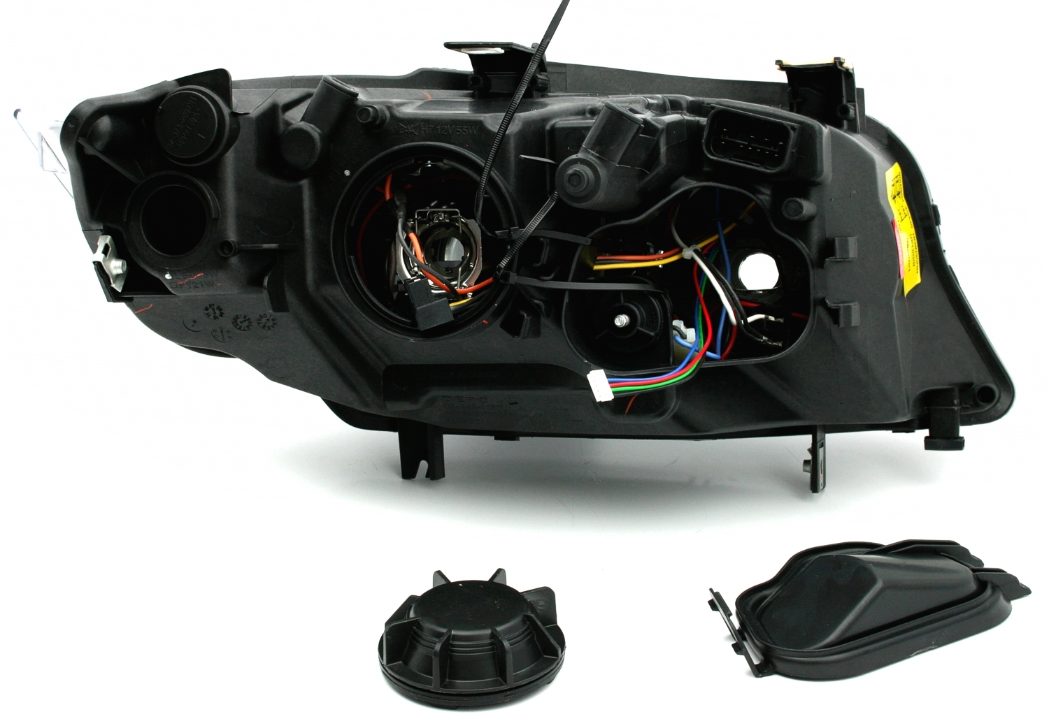 angel eyes scheinwerfer led blinker f r 3er bmw e90. Black Bedroom Furniture Sets. Home Design Ideas