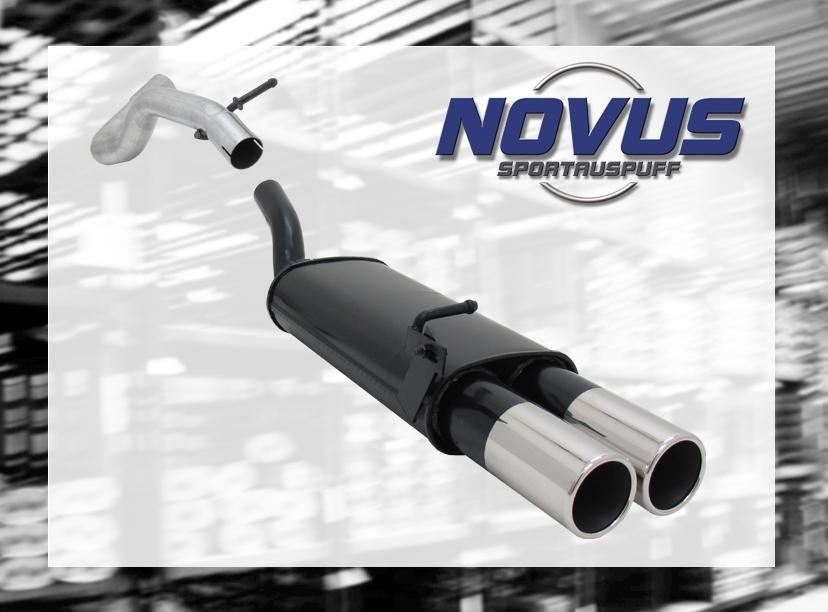 NOVUS-SPORTAUSPUFF-Gruppe-N-ESD-2x-90mm-M-Design-AUDI-A3-VW-GOLF-4-SEAT