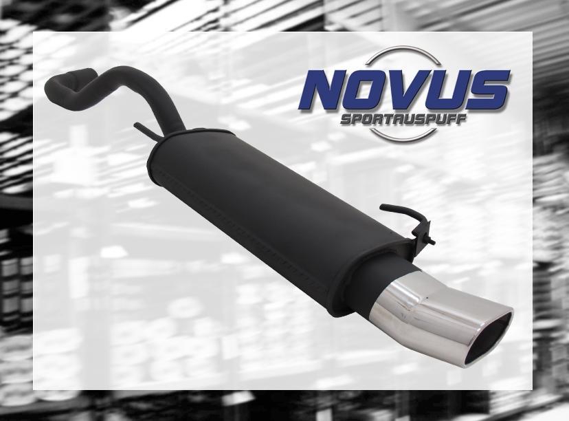 NOVUS-SPORTAUSPUFF-Gruppe-N-ESD-135-x-75mm-DTM-Optik-VW-POLO-6N-6N2
