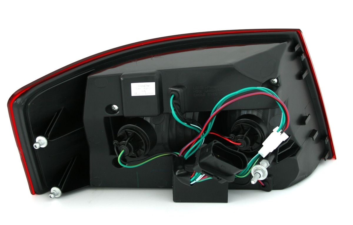 led r ckleuchten set in rot weiss f r audi a6 4f limo mit. Black Bedroom Furniture Sets. Home Design Ideas