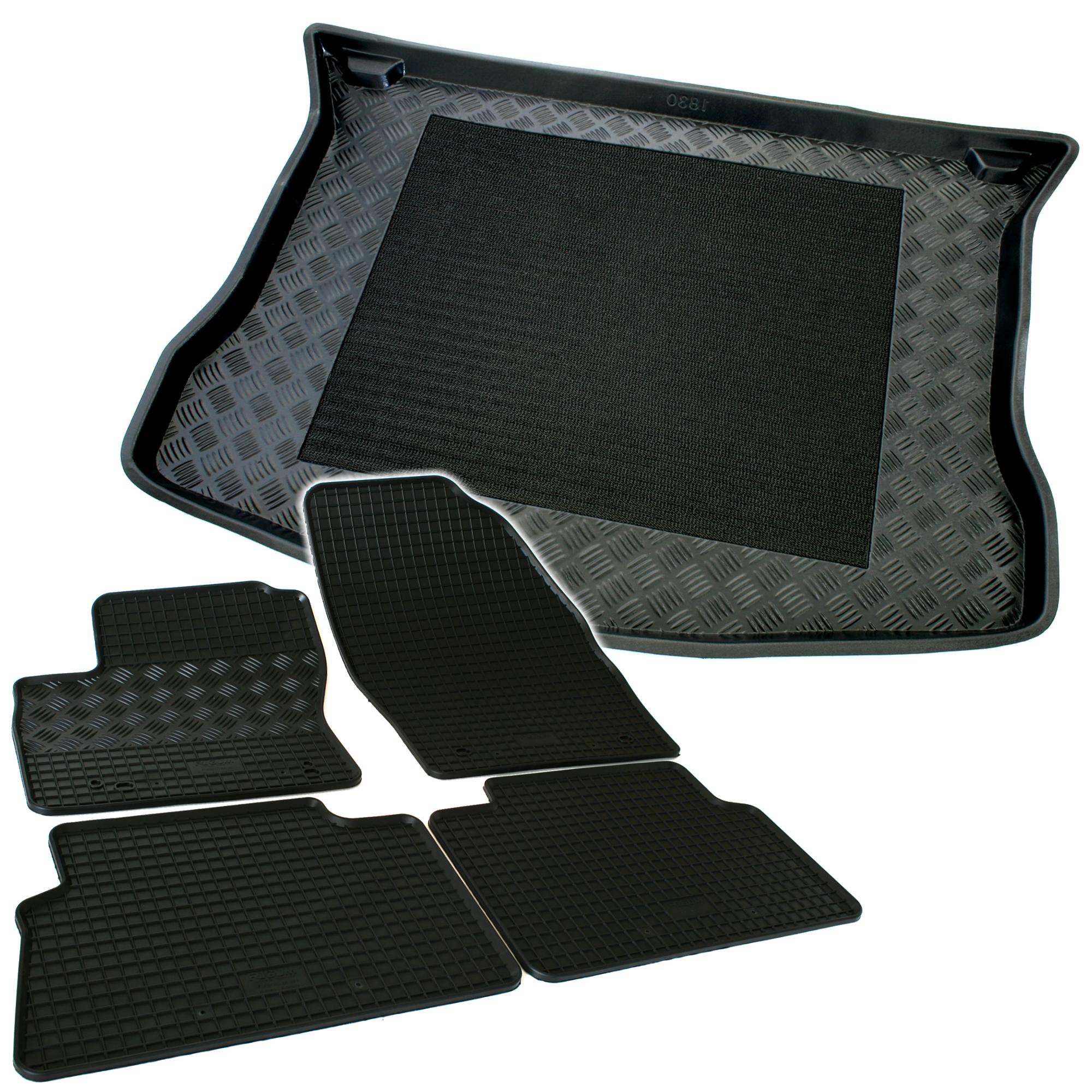 kofferraumwanne gummimatten f r ford kuga 1 08 03 gummi fu matten wanne matten ebay. Black Bedroom Furniture Sets. Home Design Ideas