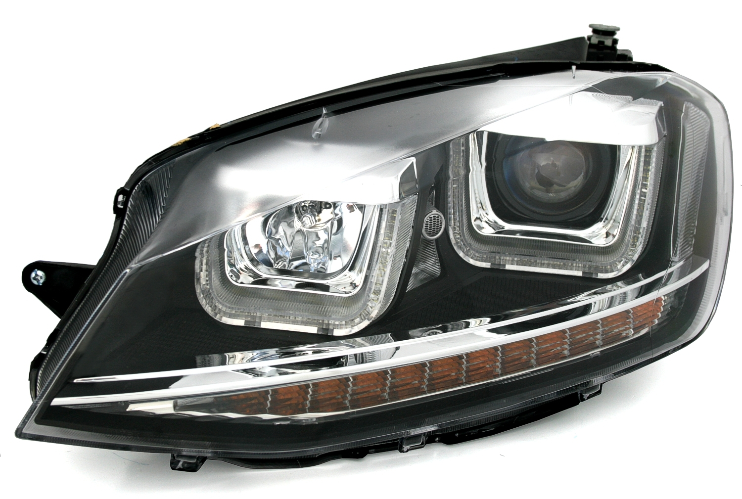 scheinwerfer set f r vw golf 7 mit led blinker u tube. Black Bedroom Furniture Sets. Home Design Ideas